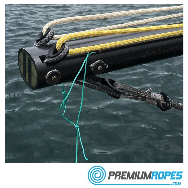 Rigging a bowsprit with Dyneema loops and bob stay  #premiumropes