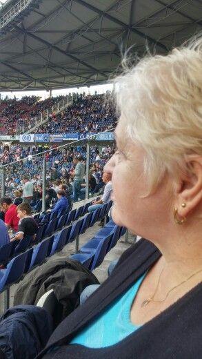 96 gegen HSV / Uschi in Aufregung / 09-2014