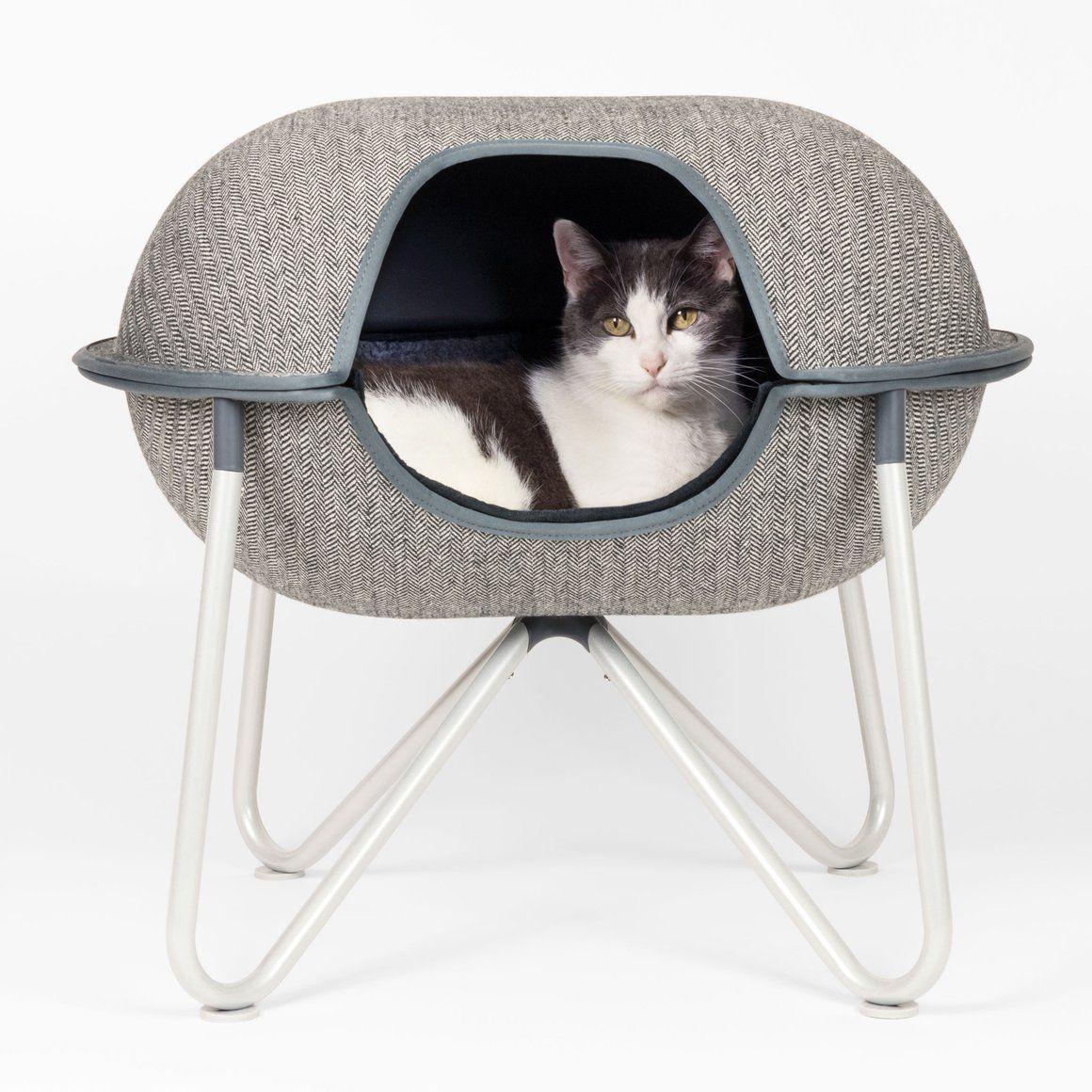 Hepper Pod Pet Bed / Herringbone Hepper pod, Pet bed