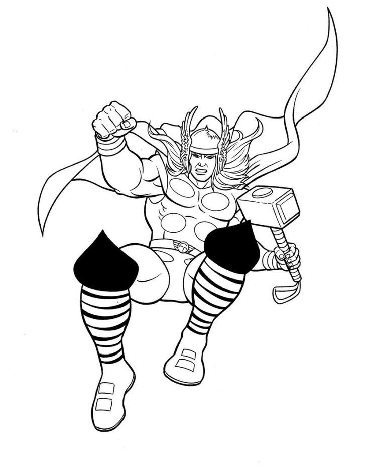toddler Avengers Coloring Pages Best Coloring Pages For ...