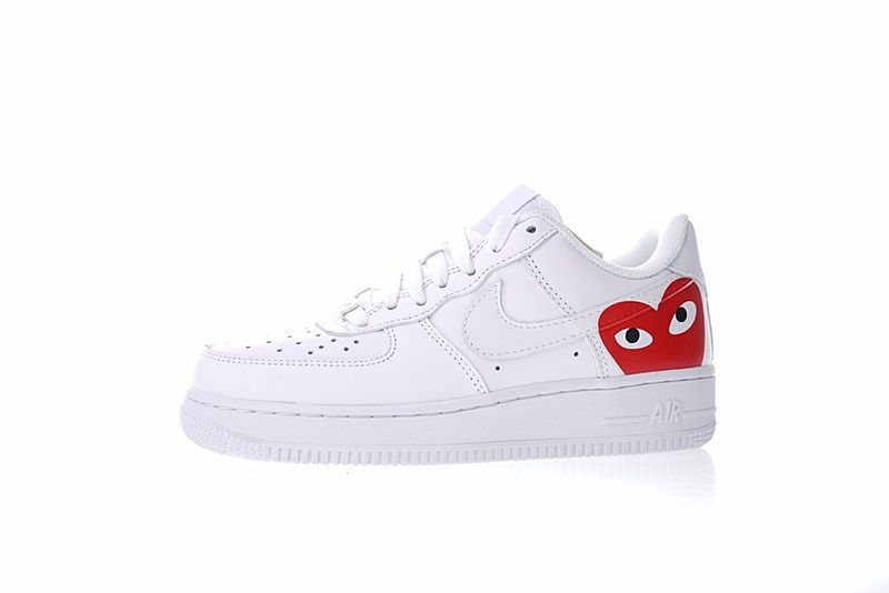 9167afa2e114 COMME des GARCONS PLAY x Nike Air Force 1 Low Retro 315115-112 | Buy ...