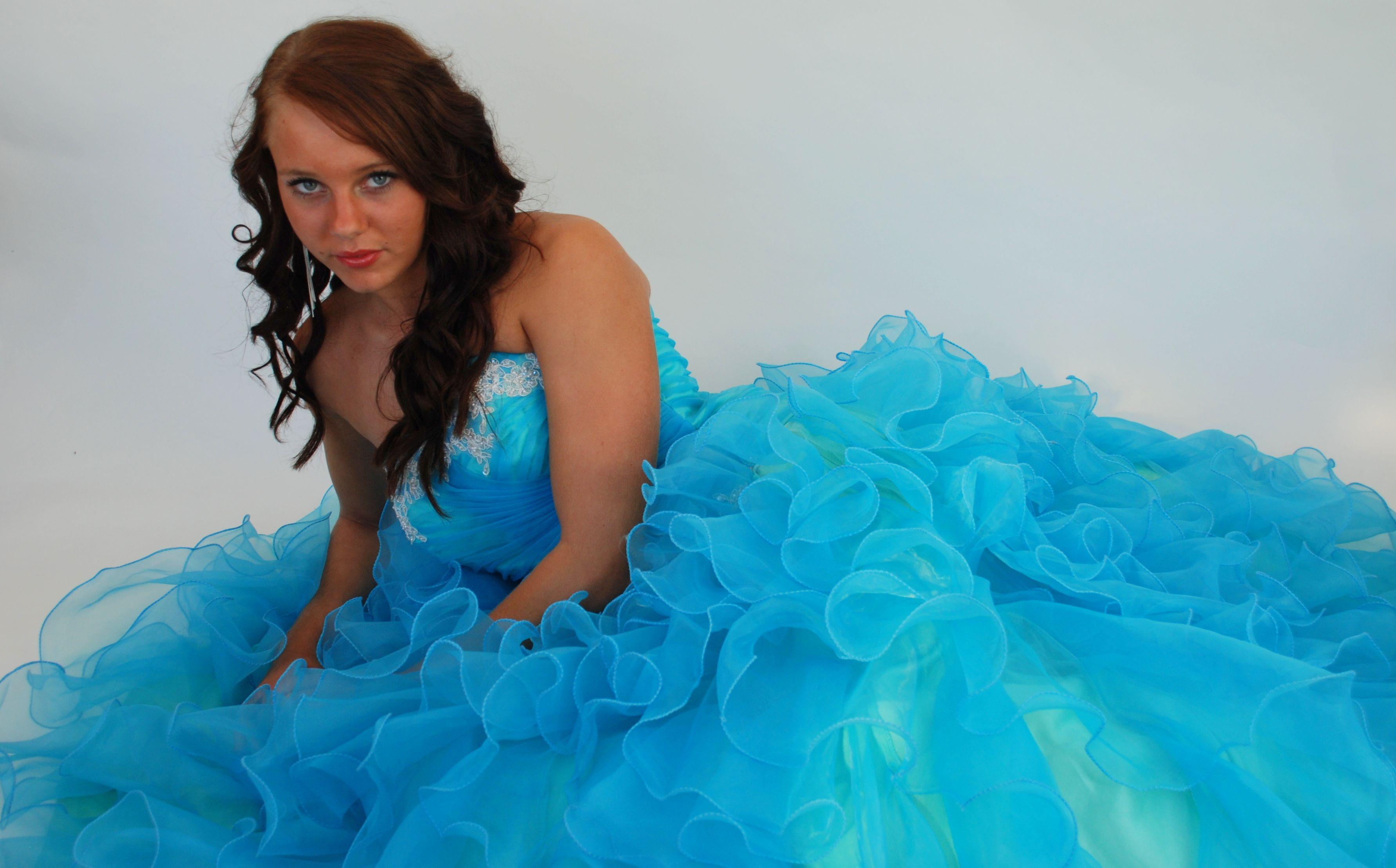 Pollyanna fairytale prom dress