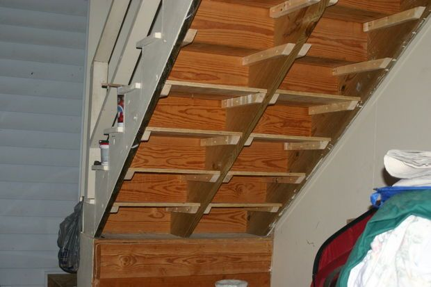 Best Under Stairs Shelves Stair Shelves Shelves Under Stairs 400 x 300