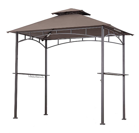 Sunjoy Replacement Canopy Set For Grill Gazebo Led Lamps Grill Gazebo