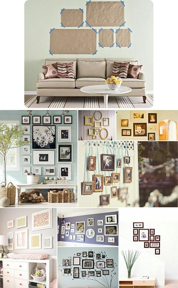 Picture hanging options | detalles | Pinterest | Cuadro, Marcos ...