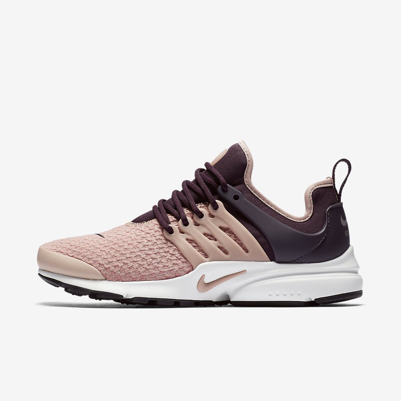 ee31586d480a Nike Air Presto- port wine summit white black particle pink