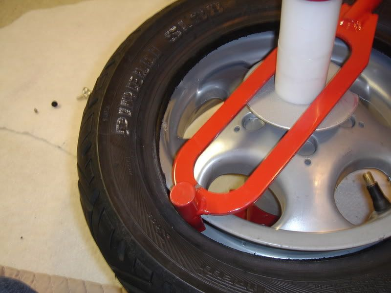 Modern Vespa Harbor Freight Mini Tire Changer Amp Mounting Bar Mods Homemade Tools Metal Working Tools Diy Tools Homemade