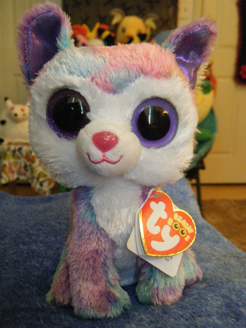 TY Beanie Boo Husky- Isabella (May be defective .) by  ShadoweonCollections.deviantart.com on  deviantART 0565f2f827a3