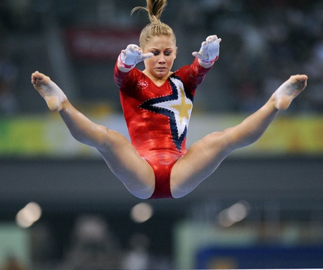 Olympian Shawn Johnson All Grown Up With Possible Fake