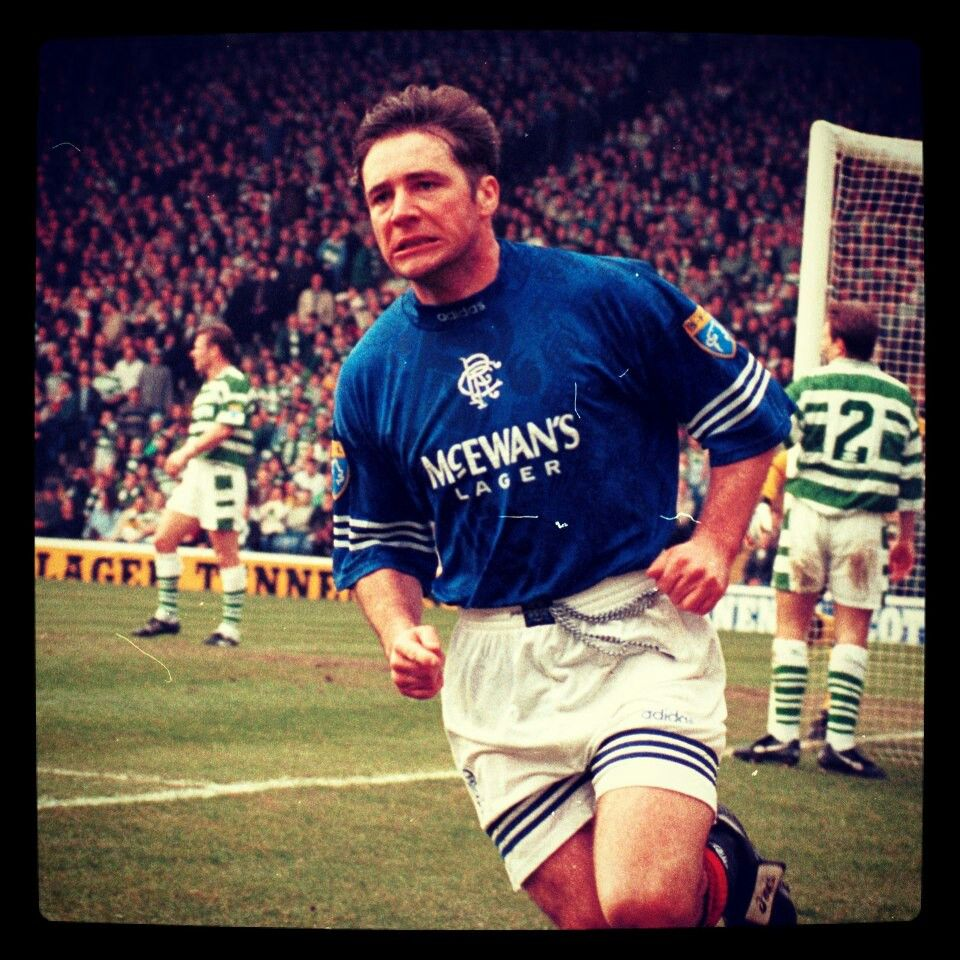 Scottish cup semi final - Ally scores as Glasgow Rangers beat Celtic 2-1 super ally !
