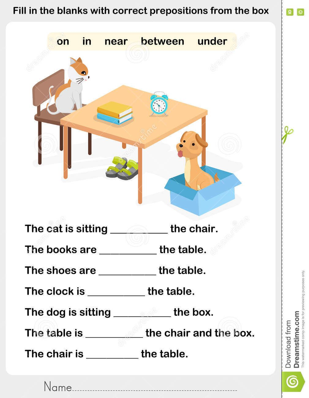 Pin By Speak Fast Languages French On Kindergarten Preposition Worksheets English Grammar For Kids English Lessons For Kids [ 1300 x 1009 Pixel ]