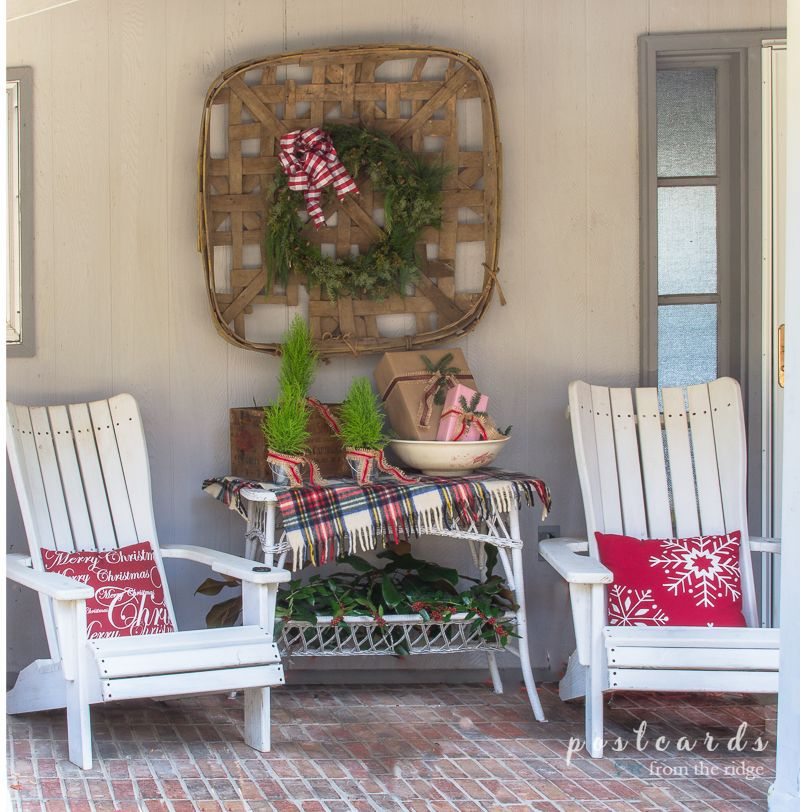 Simple Christmas Front Porch Decorating Ideas Simple christmas - simple christmas decorating ideas