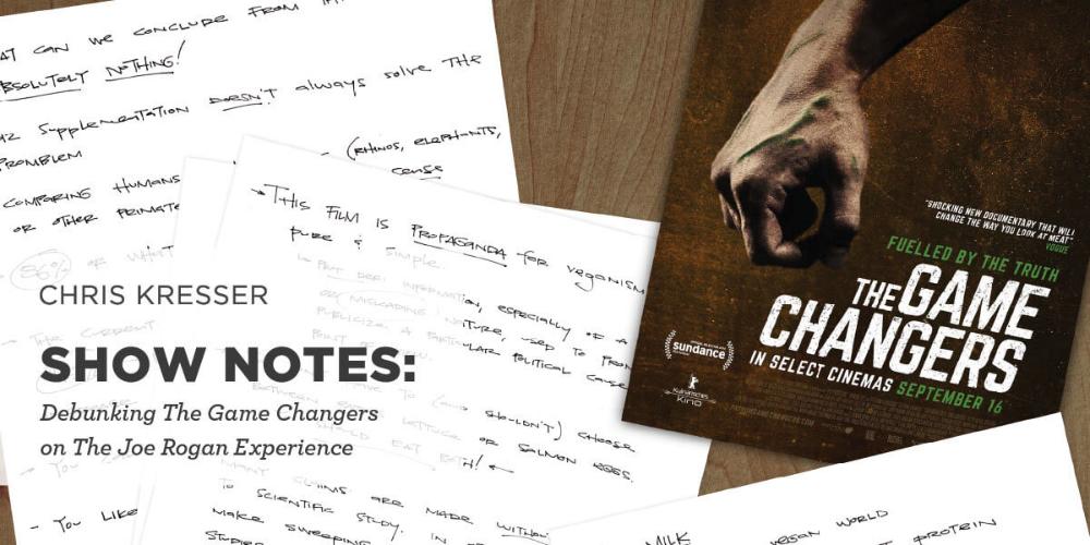 Debunking the Game Changers with Joe Rogan Chris Kresser