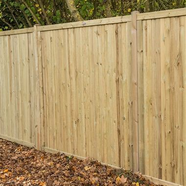 6x6 Acoustic Noise Reduction Fence Panel Sound