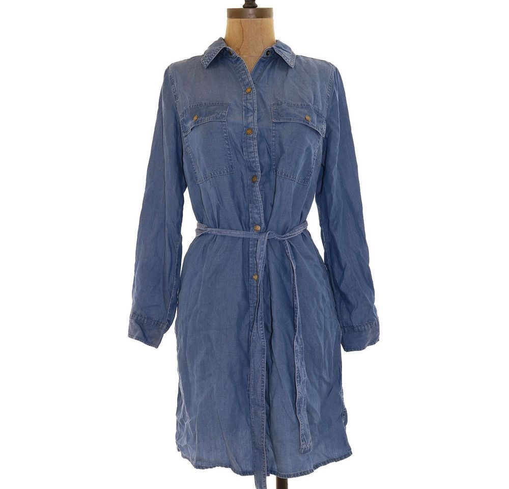 027ccc7a84  DenimDress Michael Kors Shirtdress Petite PS Chambray Denim Snap Front Long  Sleeve Blue B98 - Denim Dress  31.49 End Date  Friday Nov-23-2018 5 00 51  PST ...