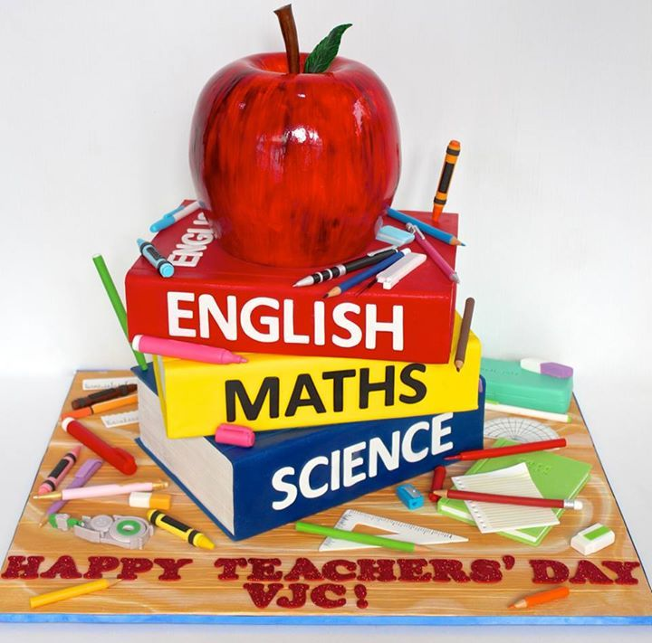 Teachers Day Stack Of Books Cake Celebrate With Cake Book Cake Celebrate Good Times Cake