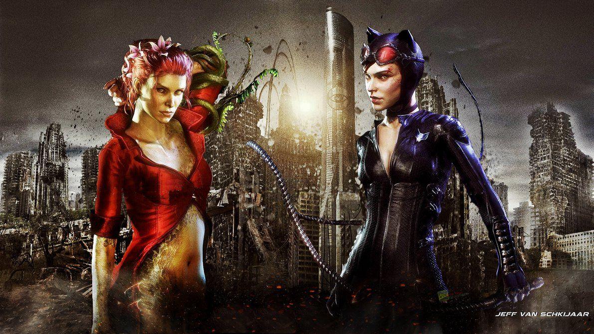 catwoman poison ivy batman arkham knight wallpaper batman arkham knight batman arkham knight wallpaper catwoman catwoman poison ivy batman arkham