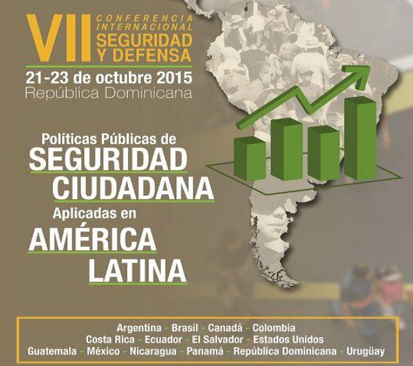 Realizaran Conferencia Sobre Seguridad Ciudadana Argentina