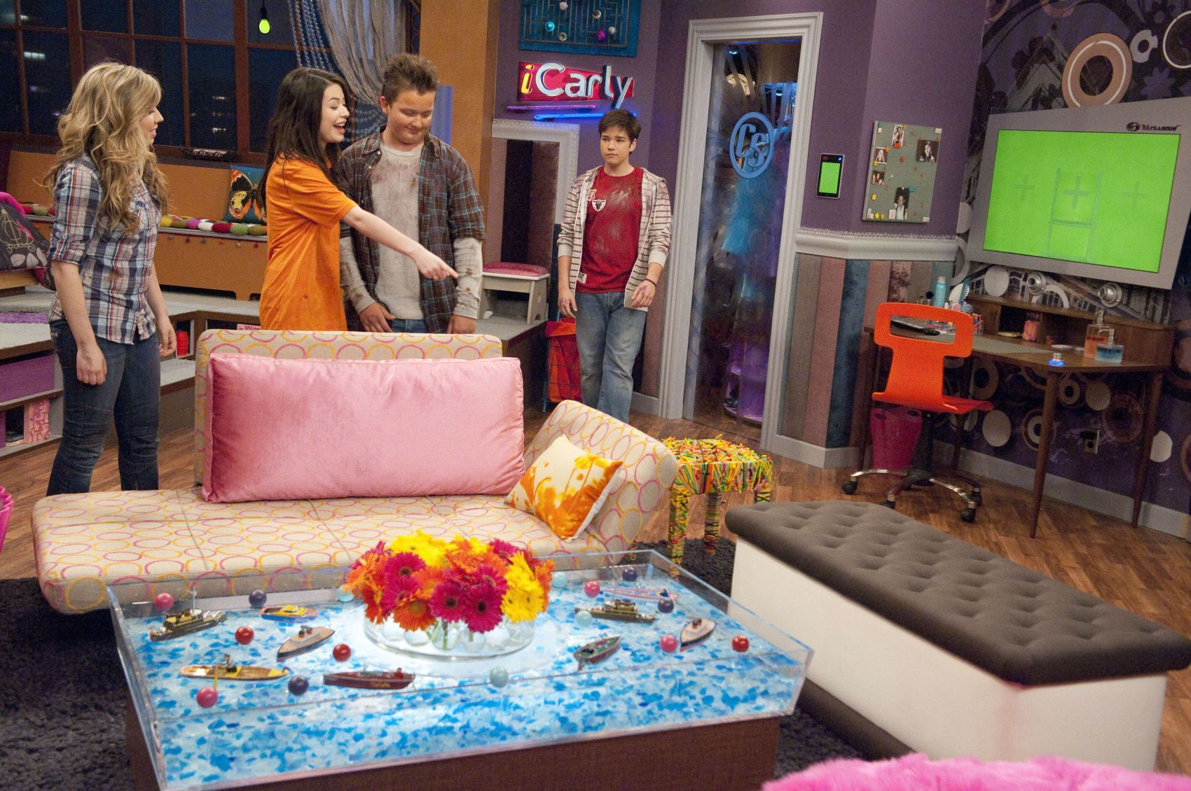 icarly room - Google Search | I Carly room | Pinterest