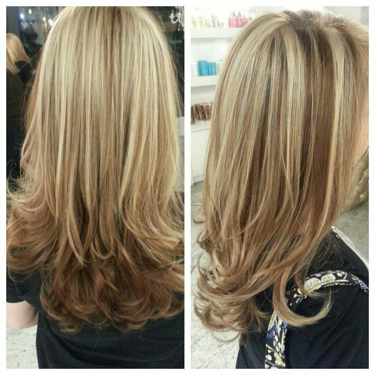 Platinum Highlights With Caramel Lowlights Love This Hair