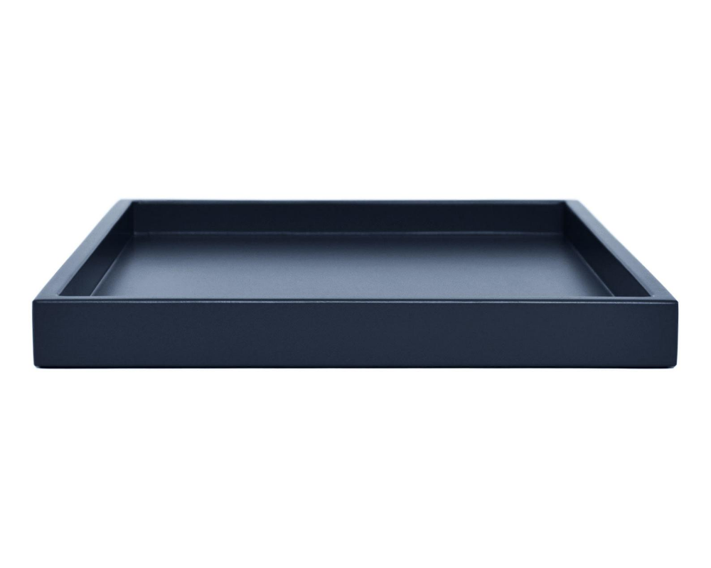 Dark Blue Ottoman Tray For Coffee Table Modern Small To Extra