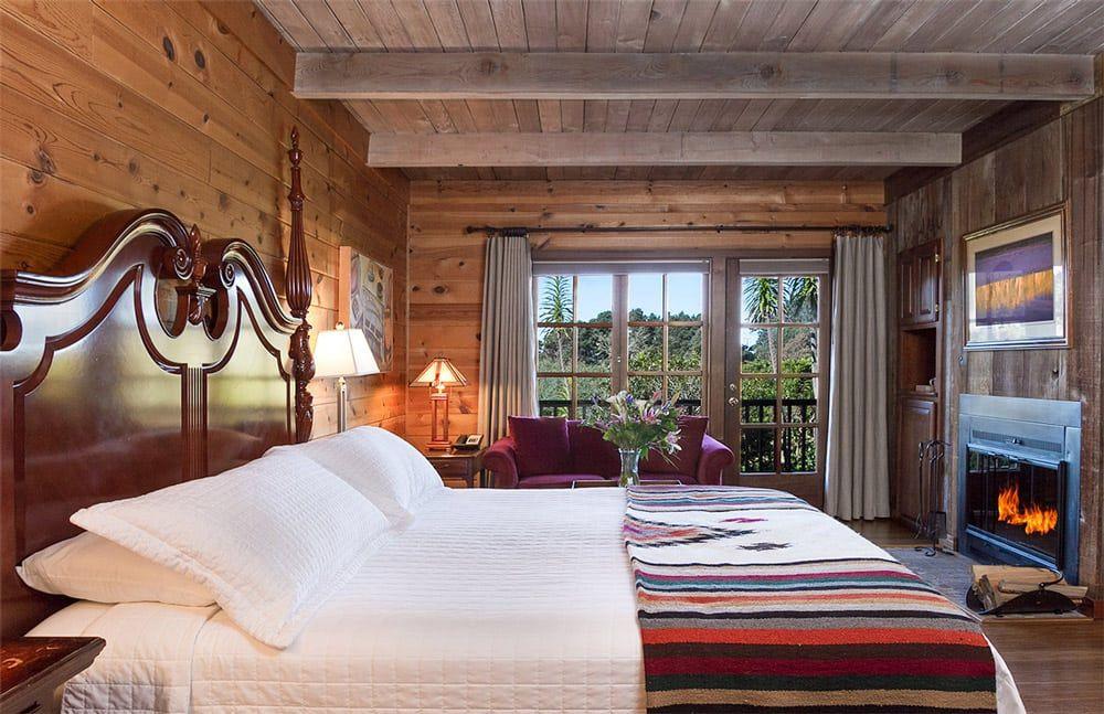 Mendocino Bed & Breakfast Resort Ocean View Double Bed