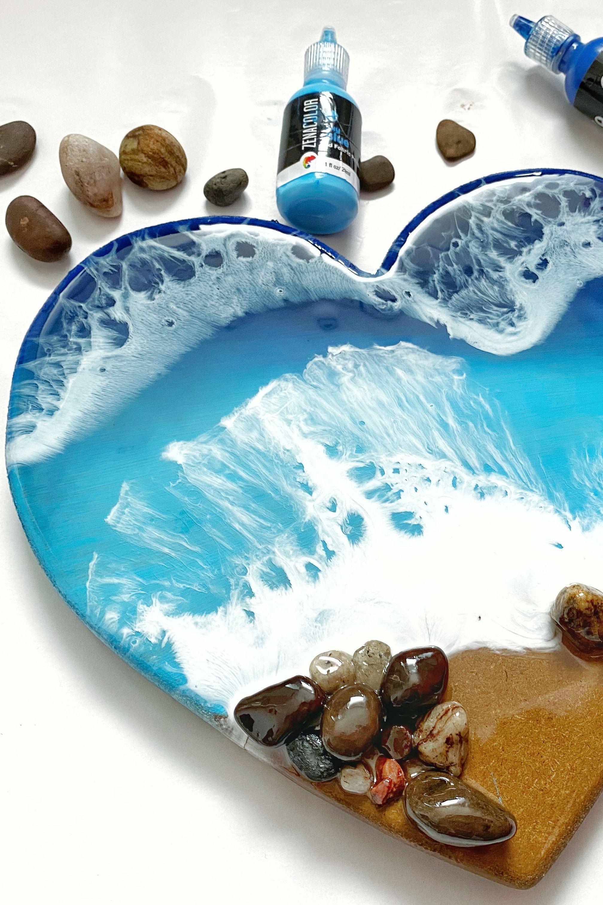 3d beach scene wall art stones ocean theme in 2020
