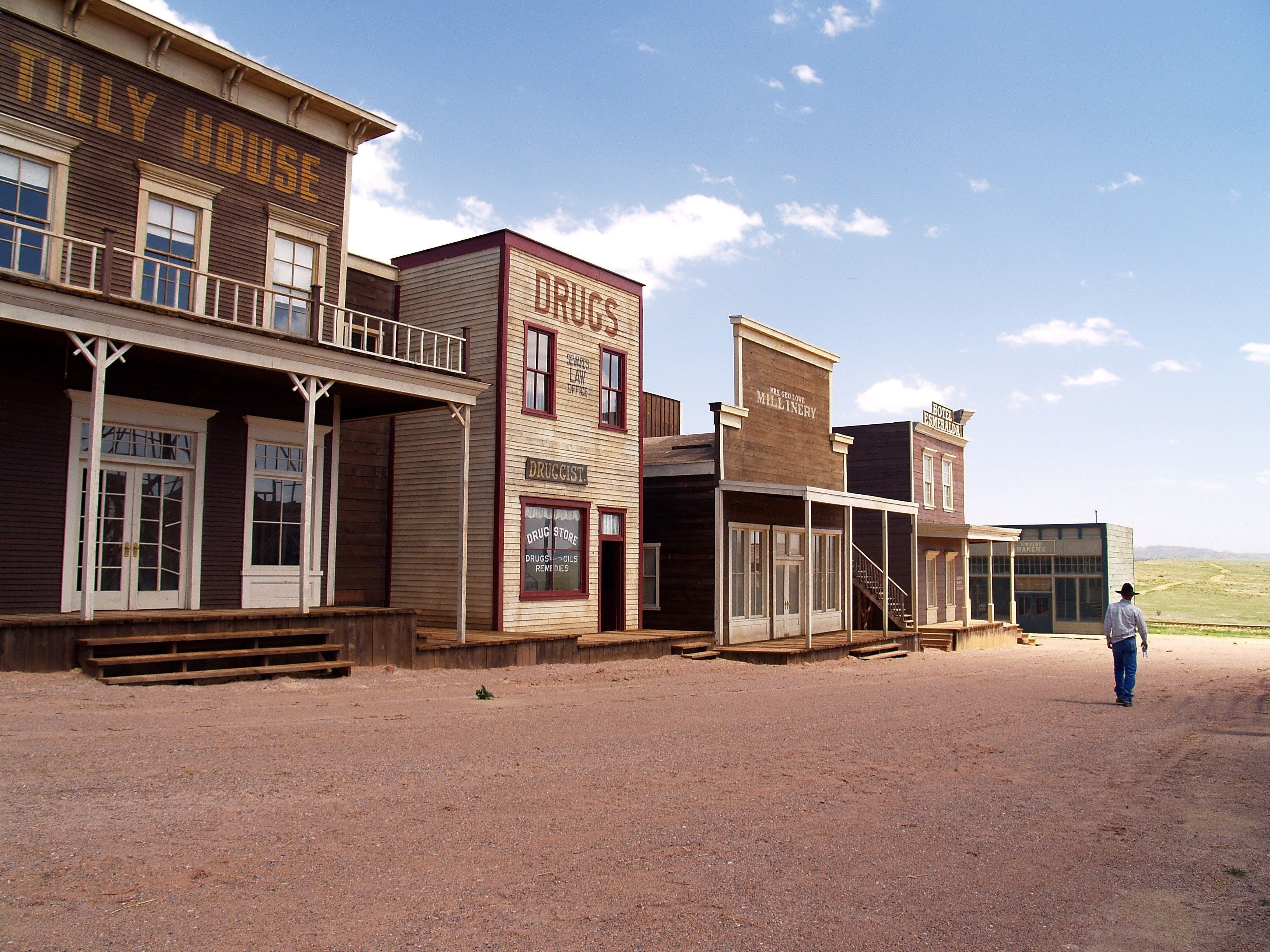 Old West Towns Night Gallery