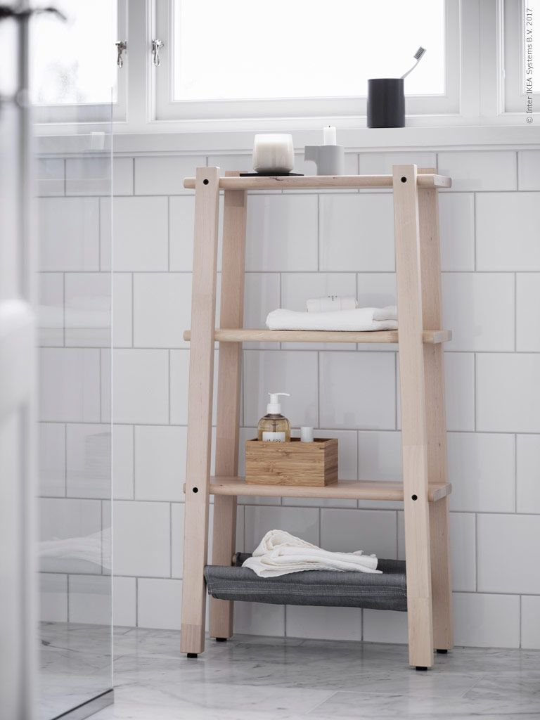 This Natural Bathroom Look Featured On The Ikea Livet Hemma Blog