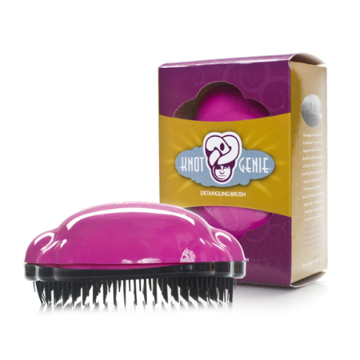 Knot Genie Kids Detangling Hair Brush Going to SERIOUSLY need this lol. Regardless of if I have a boy or girl My natural curls will be inherited I know it.