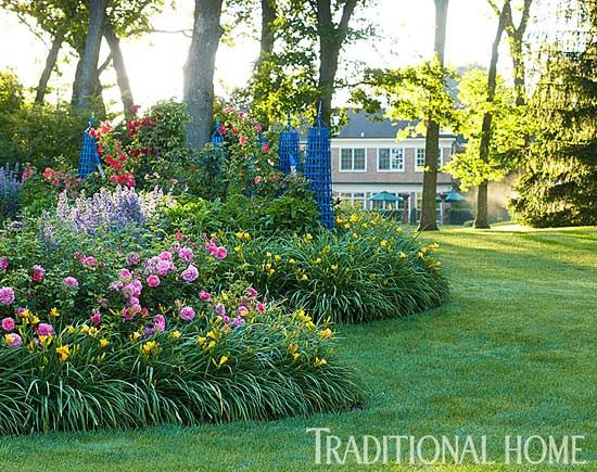 Classic Mother-Daughter Garden - Traditional Home | Dream Home ...