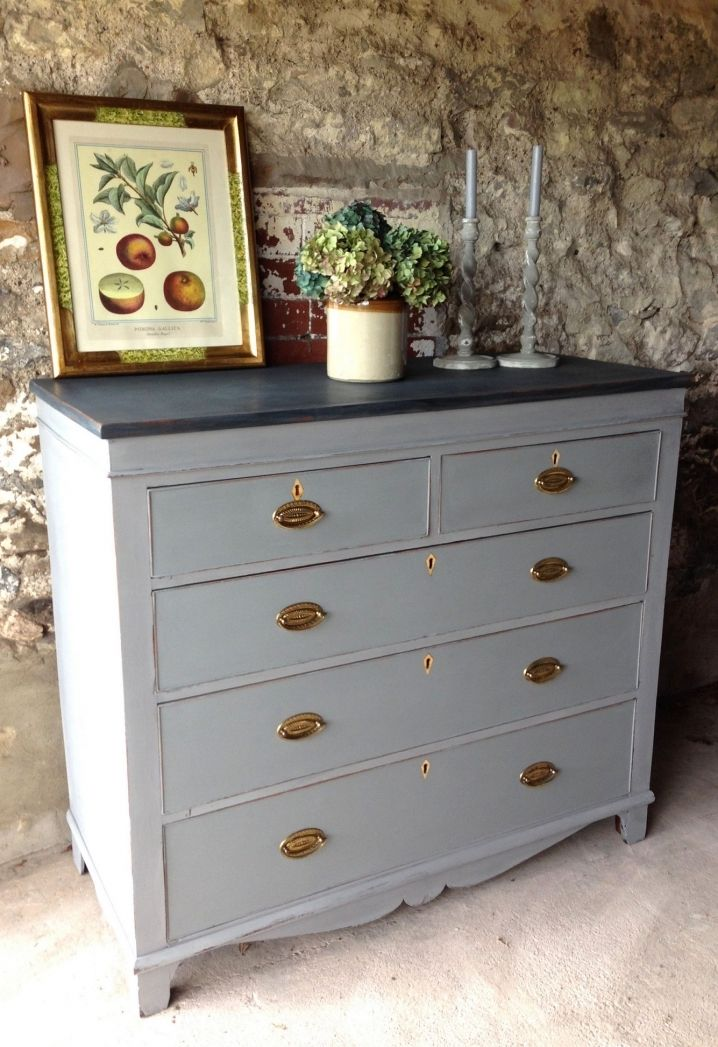 Painting Old Wood Furniture Shabby Chic Modern Vintage Check More At Http