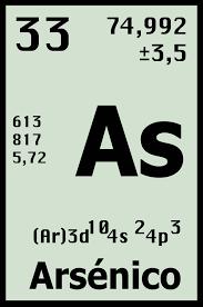 Resultado de imagen para el arsenico en la tabla periodica resultado de imagen para el arsenico en la tabla periodica urtaz Gallery