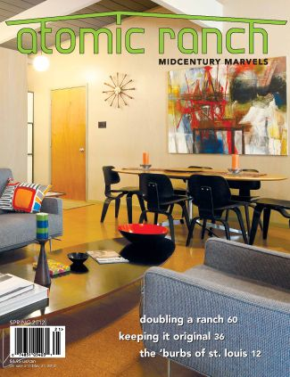 Atomic Home Magazine.The living/dining room in this 1955 Eichler in ...