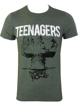 b7e4020960 My Chemical Romance Teenagers Men's Slim Fit T-Shirt | band merch ...