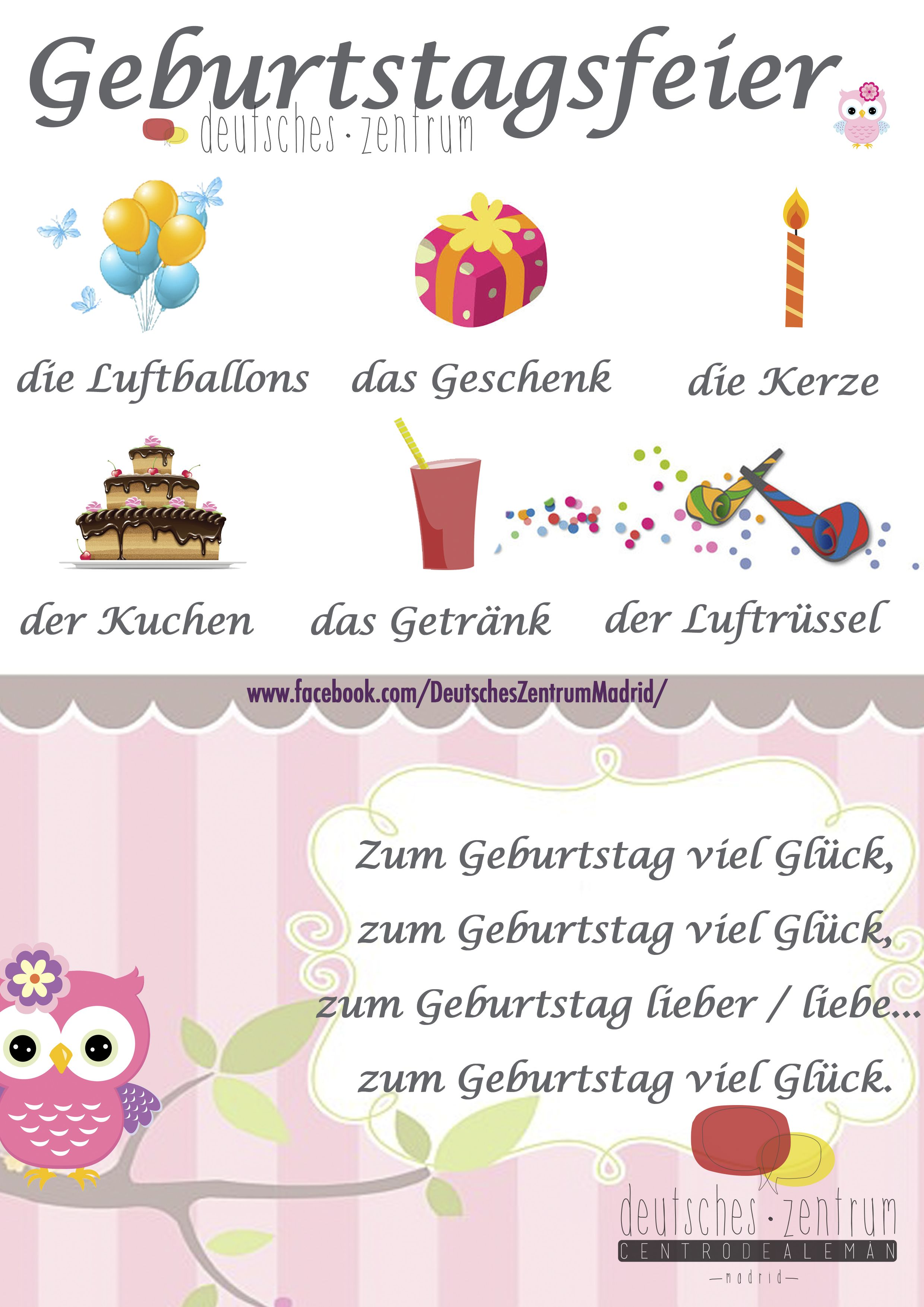 geburtstag deutsch wortschatz grammatik german alem n daf. Black Bedroom Furniture Sets. Home Design Ideas