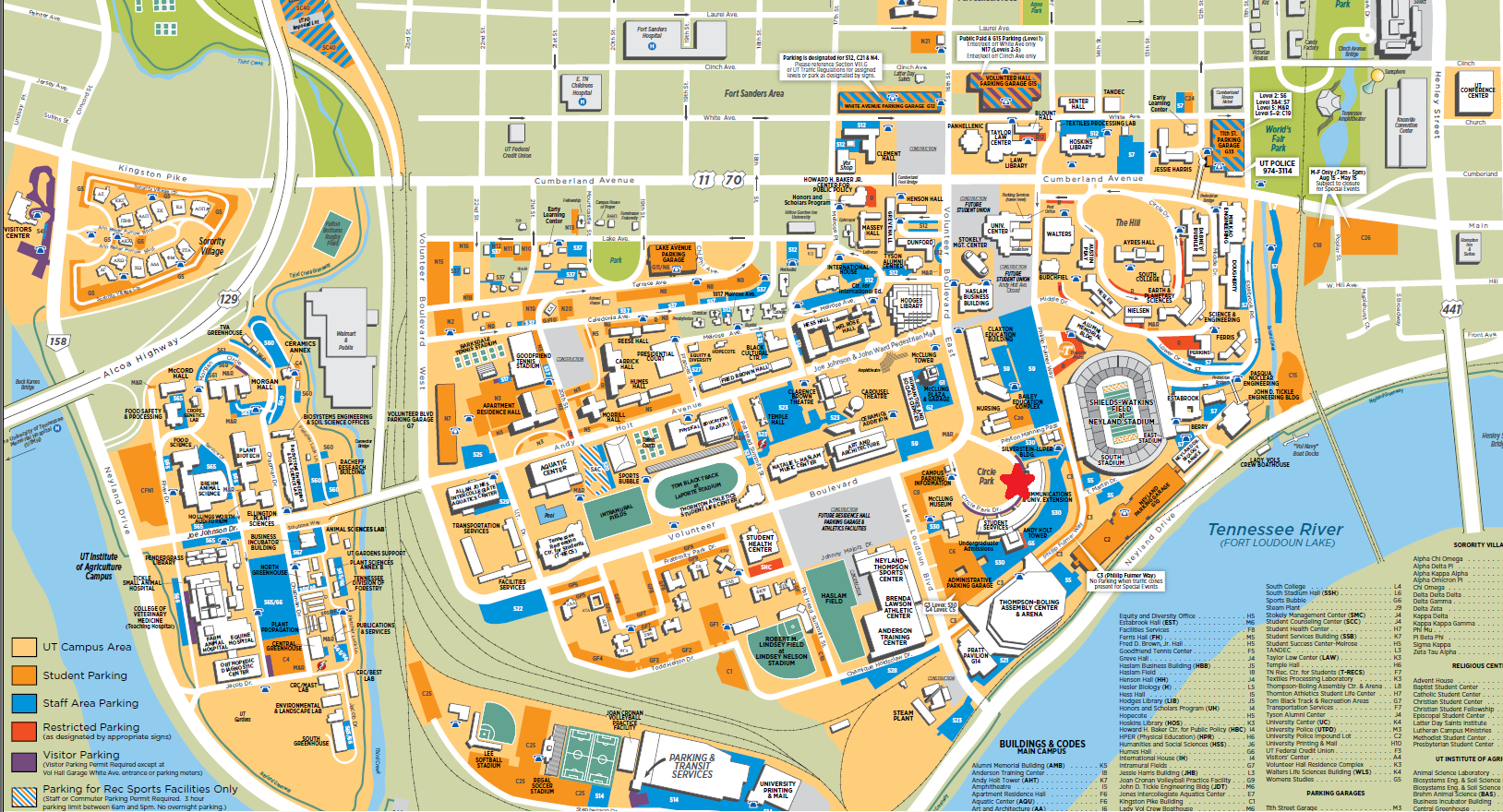 University Of Tennessee Knoxville Campus Map.University Tennessee Knoxville Campus Map