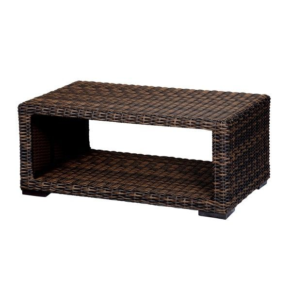 Brown Wicker Coffee Table   People Wish To Have Furniture In Their Homes.  They Need For This Furniture To Be Hardy. The Pr