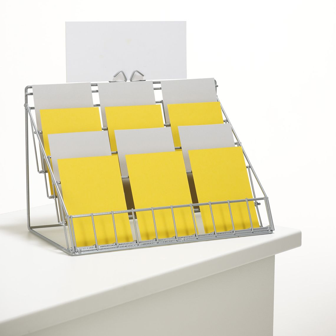 Counter Card Display Stand Counter Card Displays Luminati