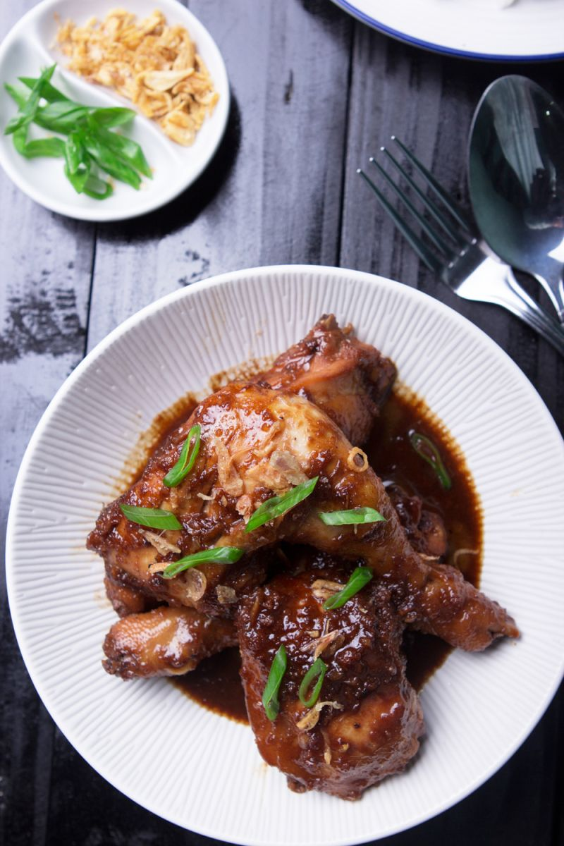 Semur ayam is a part of Indonesian cuisine. I don't know