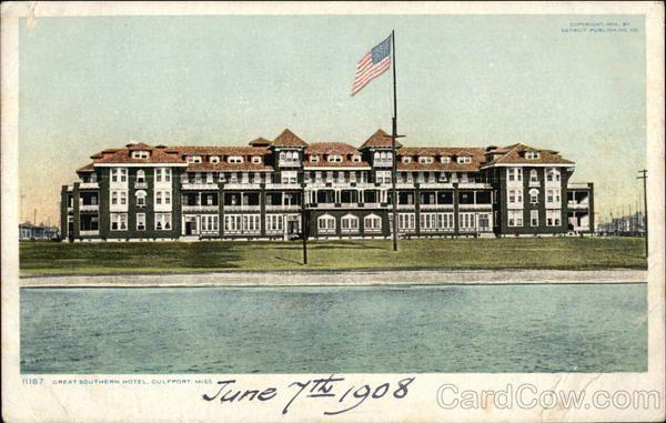 Great Southern Hotel Mississippi Travel Gulf Coast Gulfport