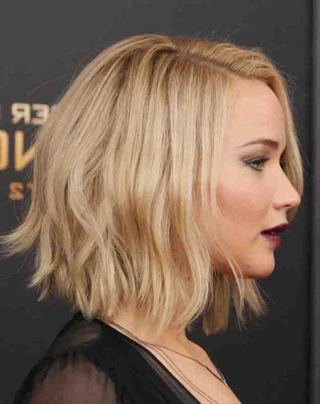 Coupe Cheveux Carre Court Jennifer Lawrence Jennifer