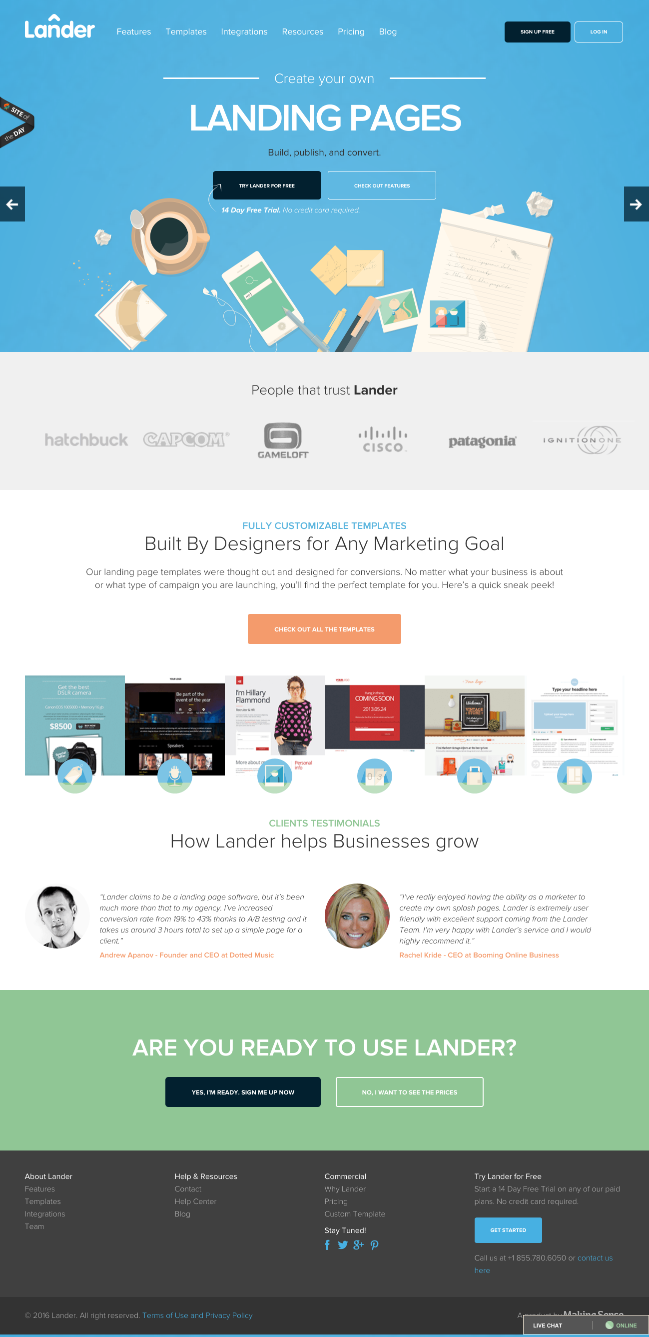 Marketing Jobs Pages on Joomla | Website Inspiration and