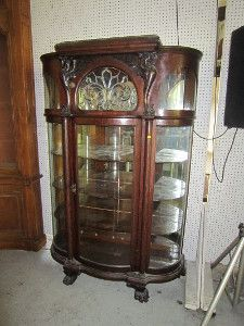 China Cabinet - - Auction August 12, Belleville Illinois