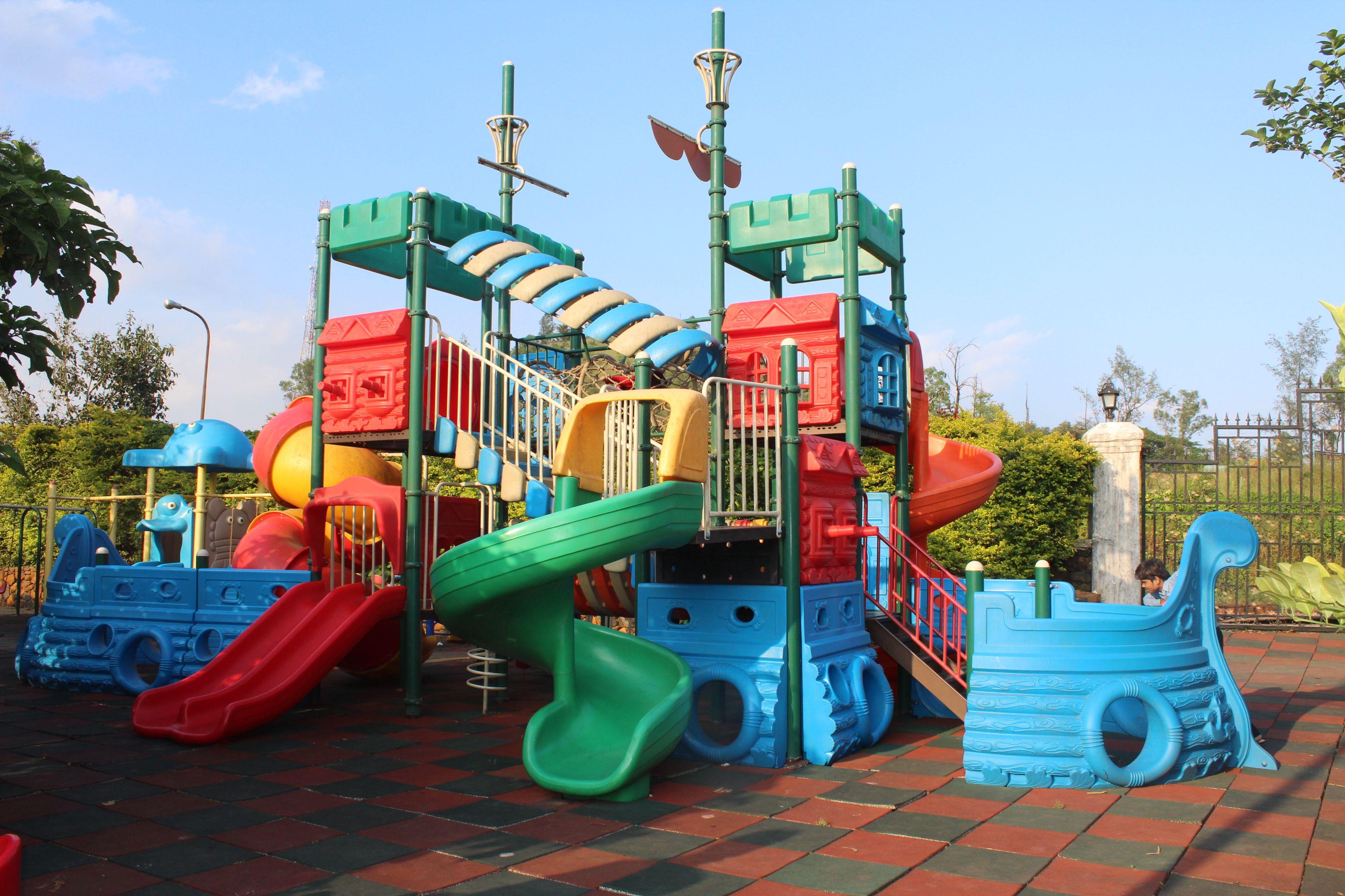 A playground for Children Ravine hotel always takes care