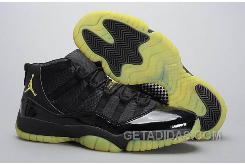 """super popular 54a1b 64ded Find Air Jordans 11 Retro """"Thunder"""" Black Yellow For Sale Christmas Deals  online or in Pumarihanna. Shop Top Brands and the latest styles Air Jordans  11 ..."""