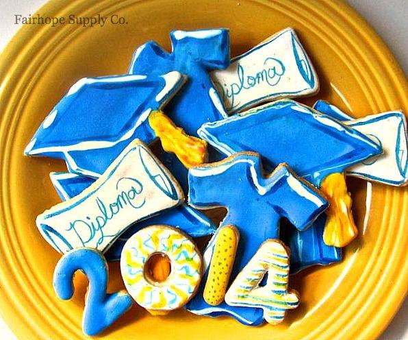 Graduation Cookies With Images Graduation Cookies