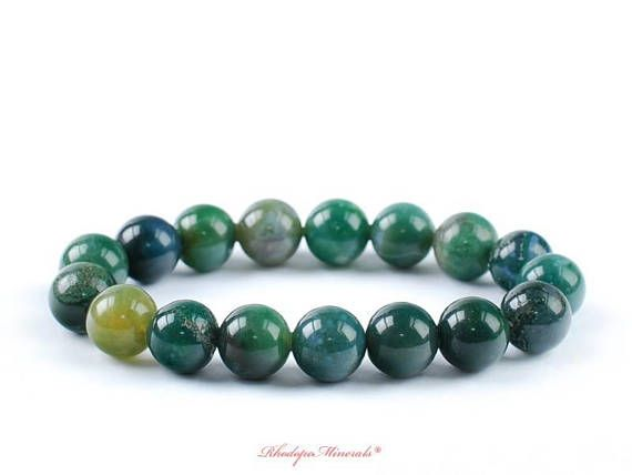 products d colleen lopez hsn bracelet strand moss necklace bead agate
