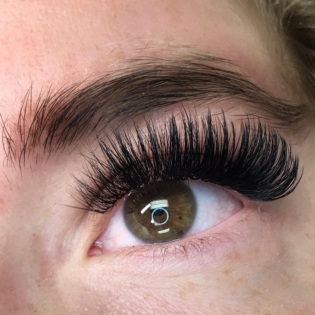 """b16f2f6a207 Jacqueline Loerzel on Instagram: """"6D Volume Lash extensions. #volumelashes  #volumelashextensions #eyelashextensions #lashes #lashartist  #eyelashtechnician ..."""