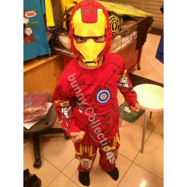 Baju Anak Iron Man